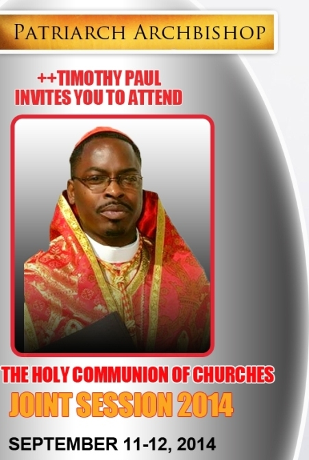 Joint Session 2014 – Holy Communion Of Churches – #TheChurch #AncientFaith